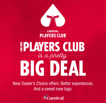 Carnival Players Club's new Dealer's Choice offers are a big deal.
