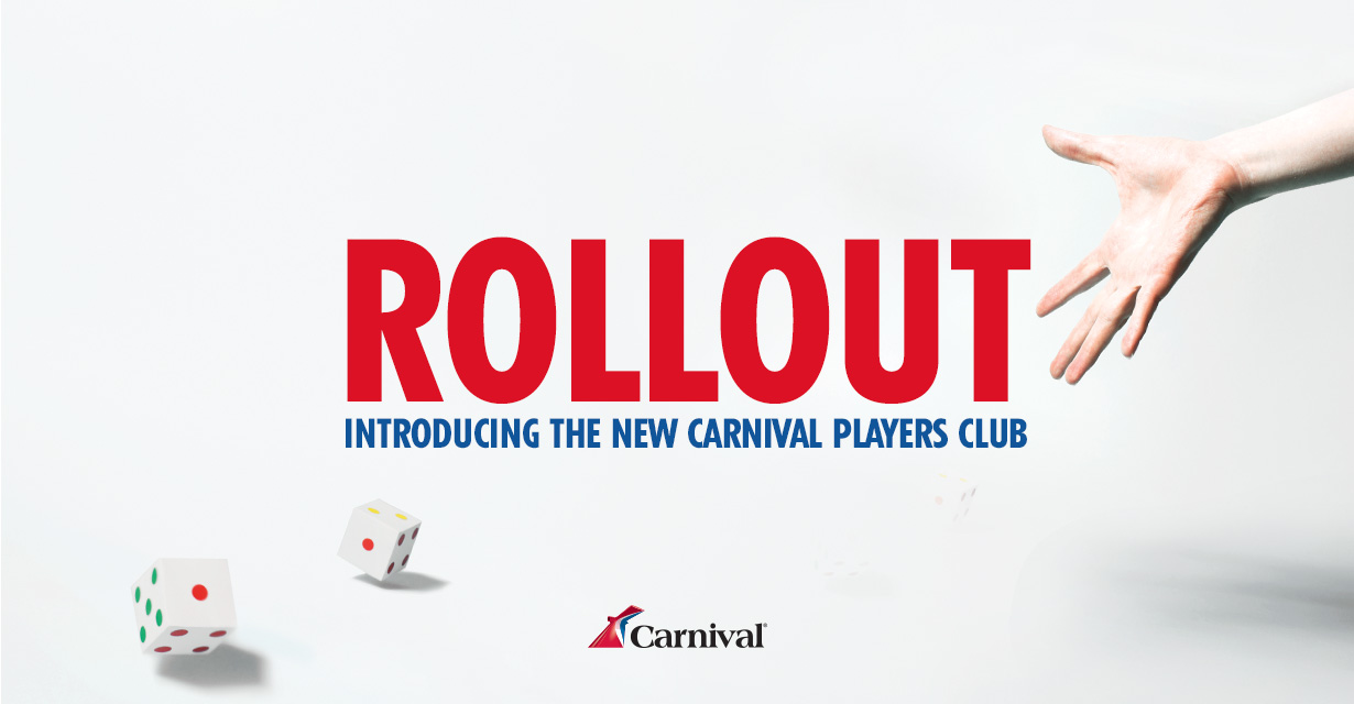 Introducing the new Carnival Players Club.
